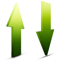 natural, transfert icon