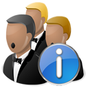 info, information, about, network icon