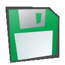childish, floppy, disk icon