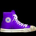 converse,lila,light icon