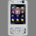 mobile phone, cell phone, handheld, smartphone, smart phone, nokia, n series, nokia n95 icon
