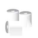 janitor, cleaning, tissue, toilet paper icon