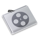 video, film, folder, movie icon