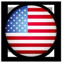 flag, of, united, states icon
