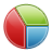 statistics, piechart icon