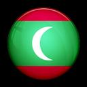 Flag, Maldives, Of icon