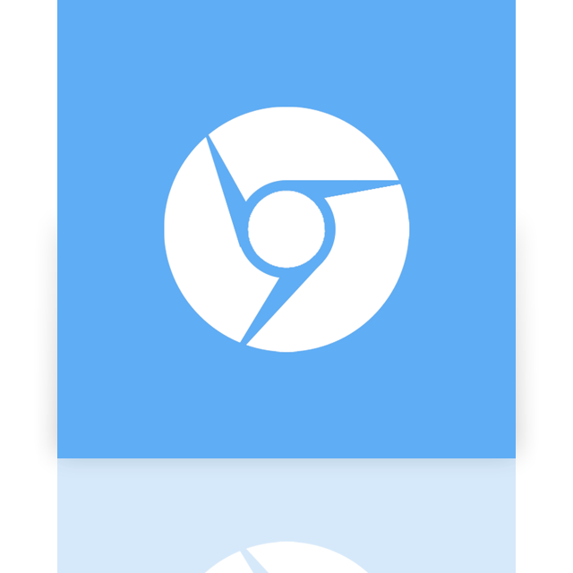 mirror, chromium, alt, google icon