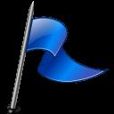 rightblue, flag icon