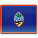 country, guam, flag icon