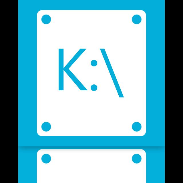 mirror, k icon