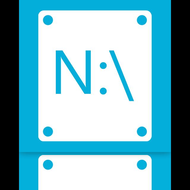 n, mirror icon