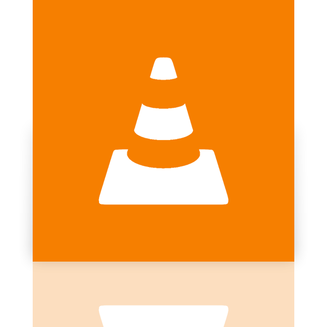 media, vlc, player, mirror icon