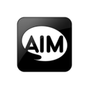 aim, square, 099277, logo icon