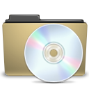 manilla, cd, folder icon