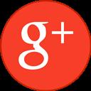 Border, Googleplus, Revised, Round, With icon