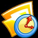 Folder temporary icon