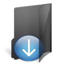 folder, download icon