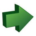 arrow, yes, right, ok, correct, next, forward icon