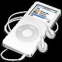 white, ipod, nano icon