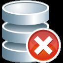 database remove icon