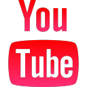 corporate, logo, youtube, media, social icon