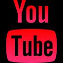 corporate, logo, youtube, media, social icon