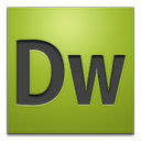 dreamweaver, adobe, cs4 icon