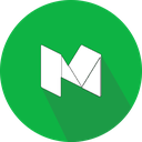 logo, medium, social network icon