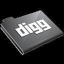 Digg, Grey icon