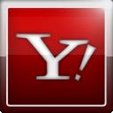 social network, yahoo, social icon
