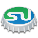 stumbleupon, cap, beer, beer cap icon