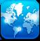 earth, world, map, globe icon