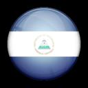 flag,nicaragua,country icon