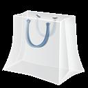 Bag, Shopping, White icon
