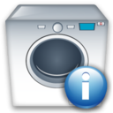 Info, Machine, Washing icon