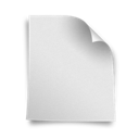 blank, page icon