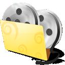 video, folder, movies icon