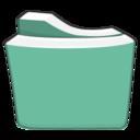 seagreen,folder icon