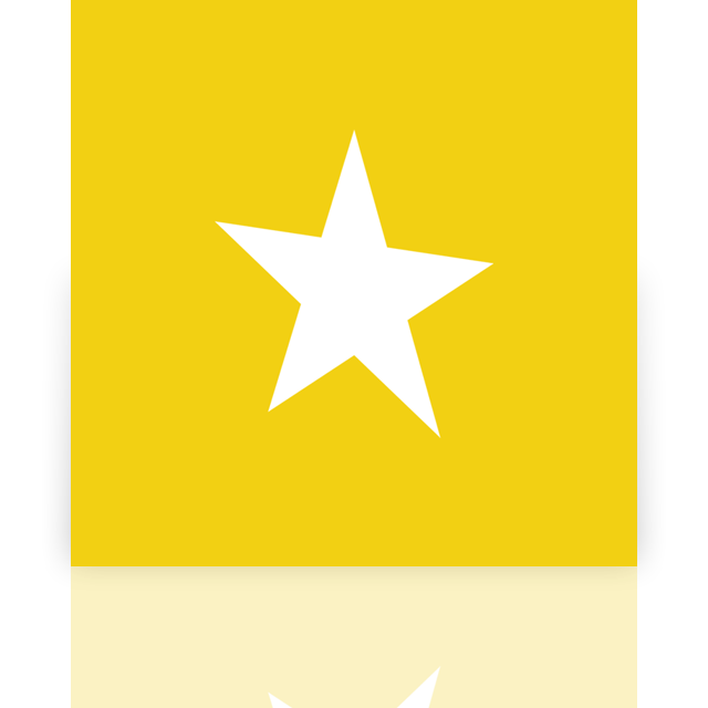 bookmark, mirror icon