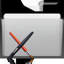 graphite, folder, app icon