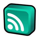 Atom, Newsfeed icon
