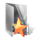 folder, bookmark, star icon