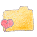folder, yellow, favorite icon