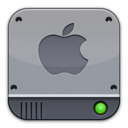 disk,silver,apple icon