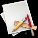 Application, Art, Brush, File, Pencil, Ruler icon