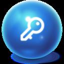 bright,ball,logoff icon