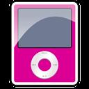pink, nano, ipod, 3g icon