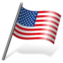 Flag, Unitedstates, Us, Usa icon