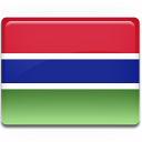 gambia, flag, country icon