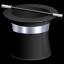 magic, hat icon